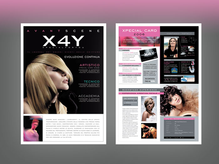 X4Y Newsletter L'Oreal Professionnel Paris Cover Internal Pages