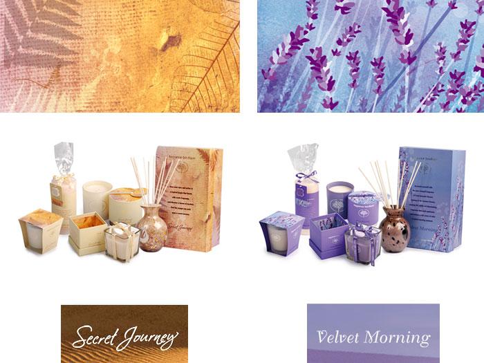 Fragrance Boutique Secret Journey and Velvet Morning