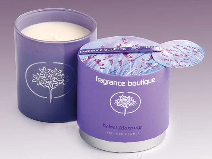 Fragrance Boutique Velvet Morning Candle
