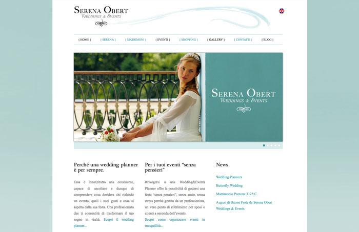 Serena Obert Wedding & Events Identity