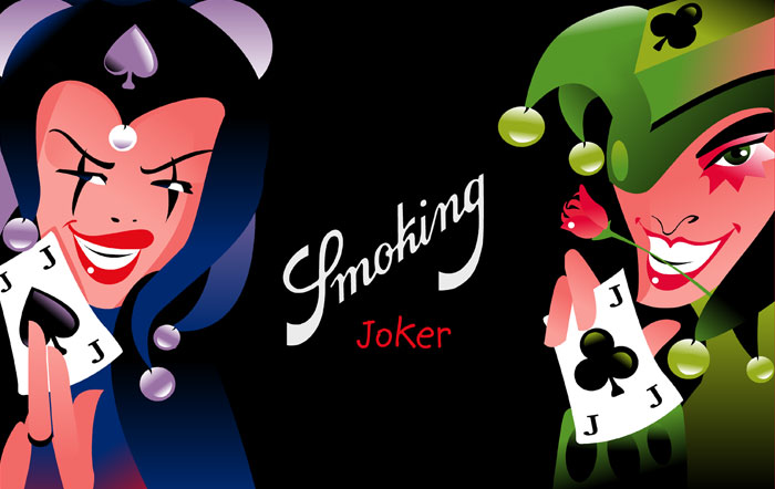 Smoking Lighters Joker
