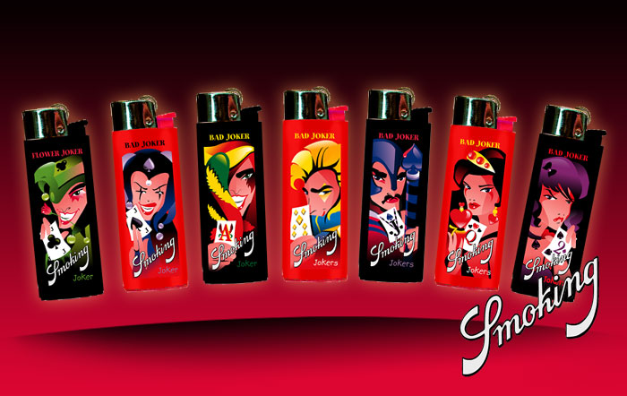 Smoking Lighters Joker2