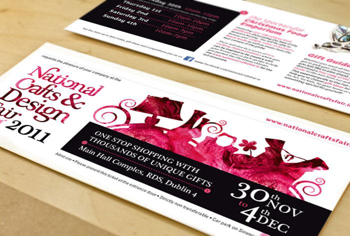 National Crafts & Design Fair Entance Ticket