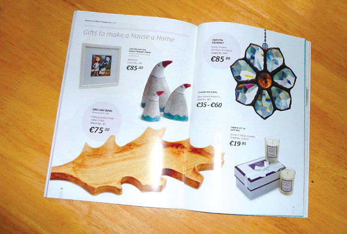 National Crafts & Design Fair Brochure 2