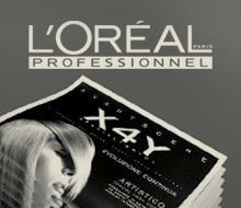 "L'Oréal Professionnel, Paris. ""X4Y"" Newsletter"